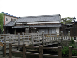 The former residence of Inoh Tadataka